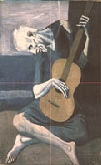Picasso's Old Guitarist thumbnail